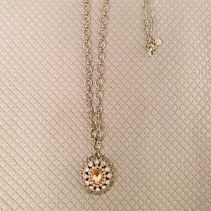 Loft Silver Pendant Necklace